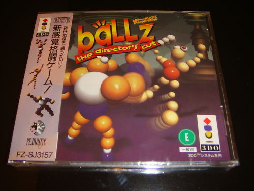 Ballz The Director's Cut Panasonic 3DO Japan NEW